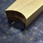 white oak winder treads